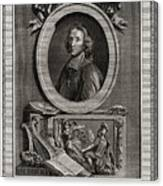 Delamothe Fenelon, 1777. Artist T Cook Canvas Print