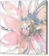 Delicate Flower Burst    Canvas Print