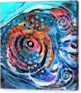 Demo Fish Canvas Print