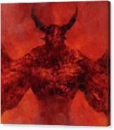 Demon Lord Canvas Print