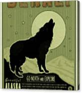 Denali Wolf Canvas Print