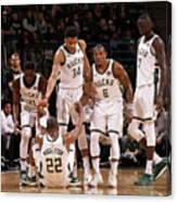 Denver Nuggets V Milwaukee Bucks Canvas Print