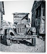 Depression Era Dust Bowl Car Canvas Print