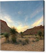 Desert Hike Canvas Print