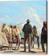 Desert Rendezvous Canvas Print