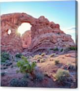 Desert Sunset Arches National Park Canvas Print