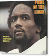 Detroit Lions Billy Sims Sports Illustrated Cover Canvas Print