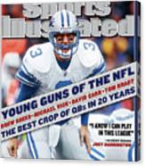 Detroit Lions Qb Joey Harrington... Sports Illustrated Cover Canvas Print