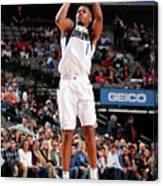 Detroit Pistons V Dallas Mavericks Canvas Print