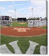 Detroit Tigers V New York Yankees Canvas Print