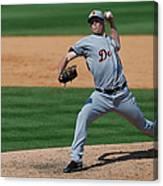 Detroit Tigers V St Louis Cardinals Canvas Print