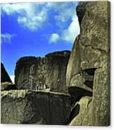 Devil's Den Rock Forms Canvas Print