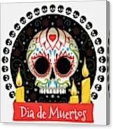 Dia De Muertos Canvas Print
