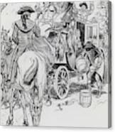 Dick Turpin, Rookwood Canvas Print