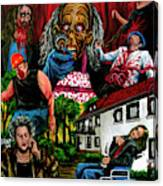 Die Damonische Morderoma Canvas Print