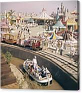 Disneyland Opening, 1955 Canvas Print