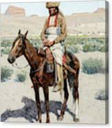 Distant Village, 1890 Canvas Print