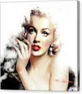 Diva Mm Bright Canvas Print