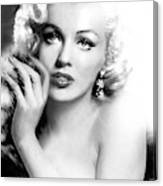 Diva Mm Bw Canvas Print