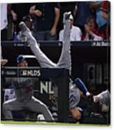 Divisional Series - Los Angeles Dodgers Canvas Print
