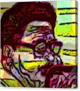 Diz Blowin High Canvas Print