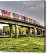 Docklands Light Railway Train  Canvas Print