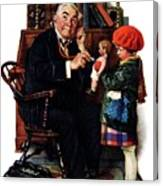 Doctor And The Doll Canvas Print