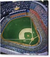 Dodger Stadium Canvas Print
