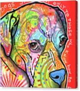Dogs Speak Canvas Print