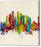 Doha Qatar Skyline Canvas Print