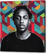Don't Kill My Vibe Kendrick Canvas Print
