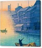 Dotonbori Morning - Top Quality Image Edition Canvas Print