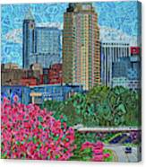 Downtown Raleigh Canvas Print