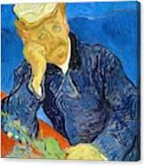 Dr Paul Gachet - Digital Remastered Edition Canvas Print