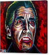 Dracula Lee  Canvas Print