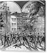 Draft Riots Canvas Print