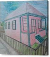 Dream Cottage Canvas Print