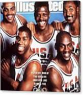 Dream Team, 1992 Barcelona Olympic Games Preview Sports Illustrated Cover Canvas Print