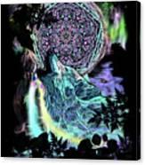 Dreamcatcher Wolf Canvas Print