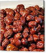 Dried Chinese Red Dates Canvas Print