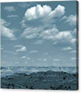 Drifting Clouds And Shifting Shadows Canvas Print