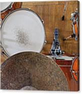 Drum Kit Arrangement Canvas Print