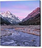 Dry Creek Canvas Print