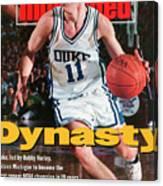 Duke University Bobby Hurley, 1992 Ncaa National Sports Illustrated Cover Canvas Print
