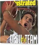 Duke University Christian Laettner Sports Illustrated Cover Canvas Print