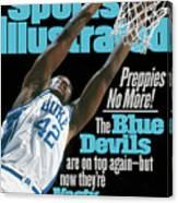 Duke University Elton Brand, 1999 Jimmy V Classic Sports Illustrated Cover Canvas Print