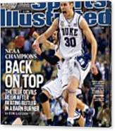 Duke University Jon Scheyer, 2010 Ncaa National Championship Sports Illustrated Cover Canvas Print