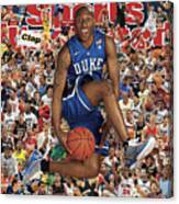 Duke University Nolan Smith, 2011 March Madness College Sports Illustrated Cover Canvas Print