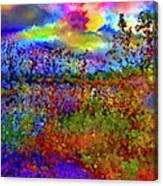 Dusk Someplace Else Canvas Print