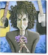 Dusky Resolution - Bob Dylan Canvas Print